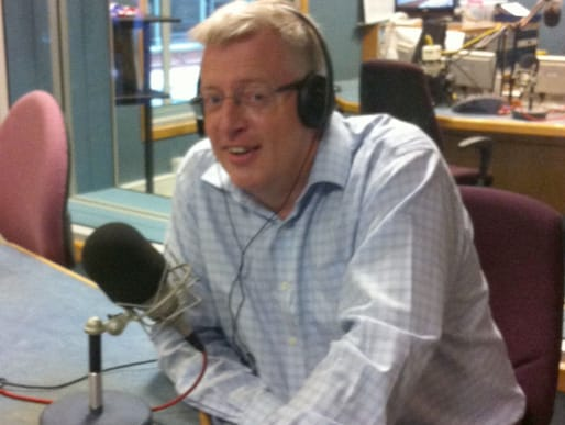 Andrew Metcalf live on BBC Radio Kent