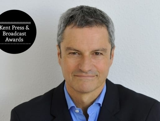 Gavin Esler will host the Kent Press & Broadcast Awards ceremony
