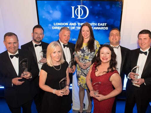 Winners of the recent IoD Director of the Year Awards