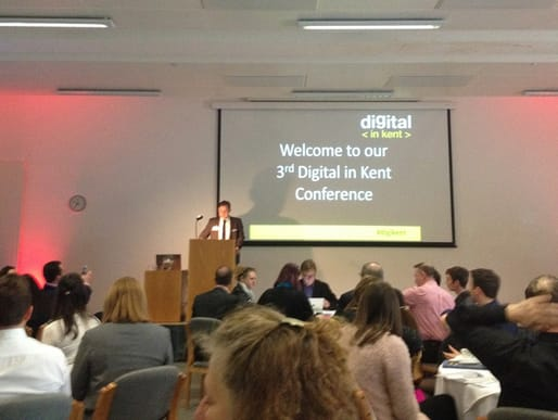 The third Digital in Kent conference kicks off