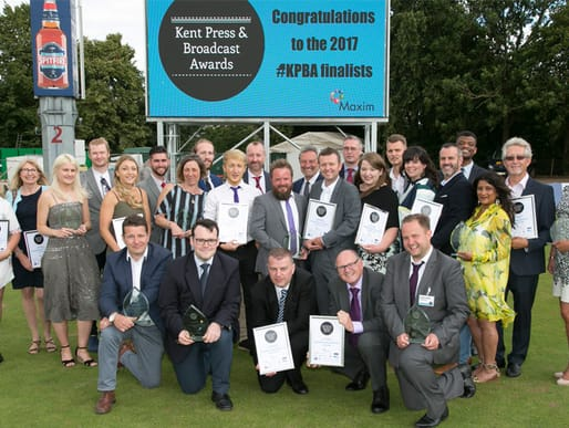The KPBA winners celebrate