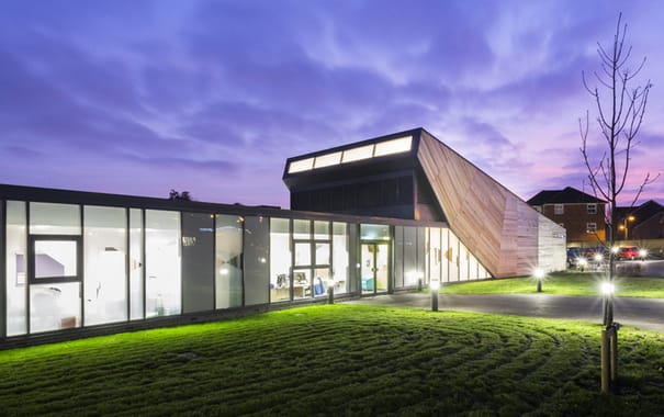 Goat Lees Primary School won Project of the Year in 2014