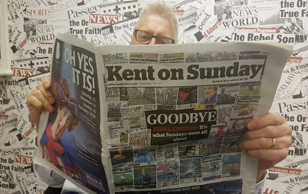 The final edition of Kent on Sunday